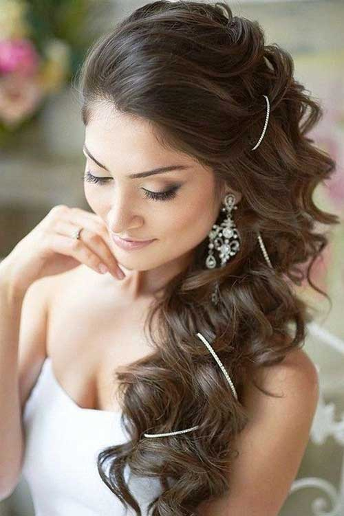 Groovy 20 Nice Bridal Hairstyles Images Hairstyles Amp Haircuts 2016 2017 Hairstyles For Men Maxibearus