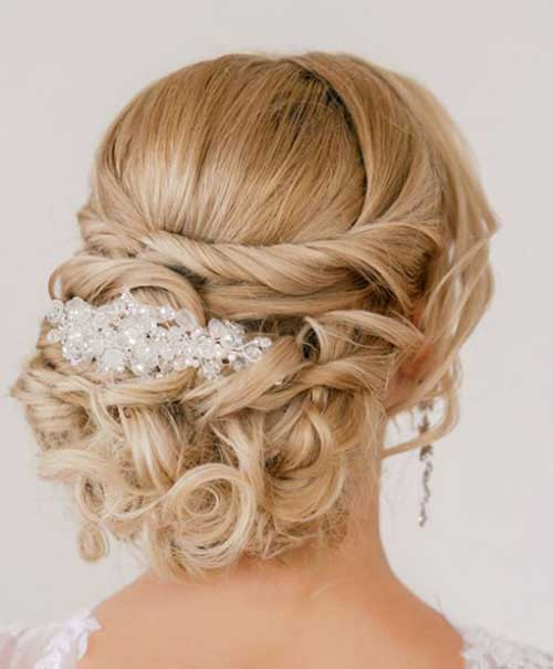 best bridal updos for long hair