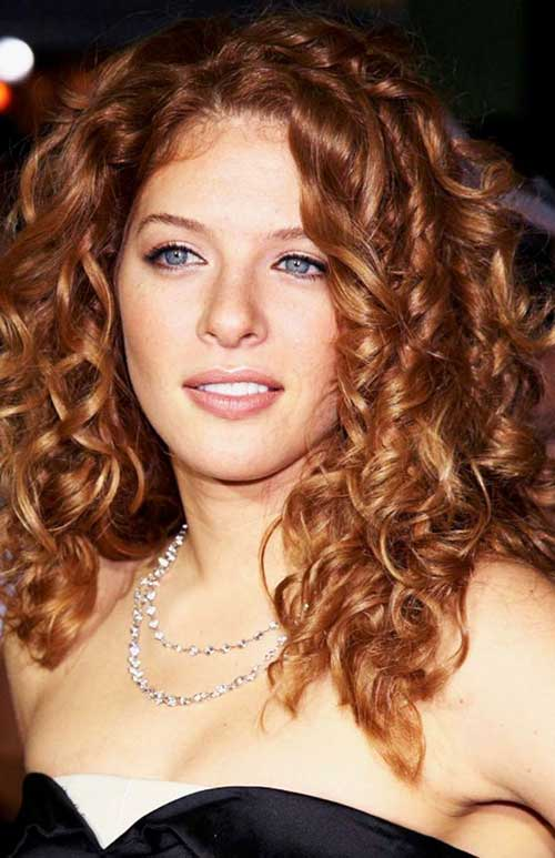 Thick Curly Hairstyles for Long Hair