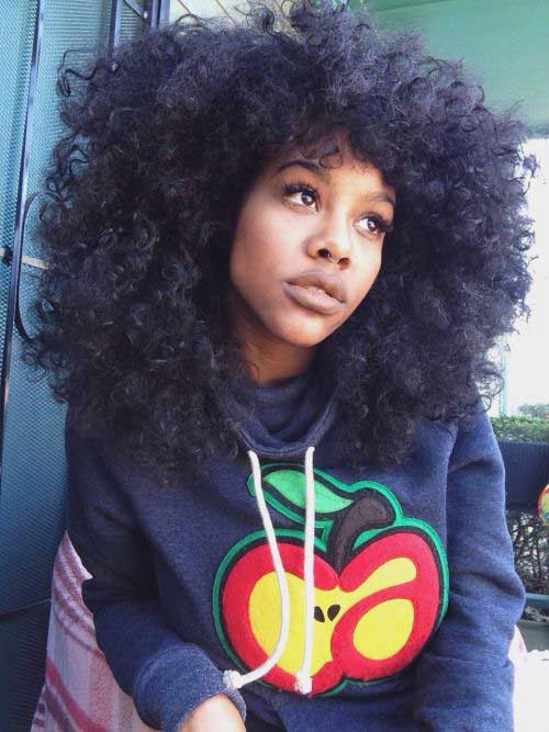Best Cute Long Afro Hair Styles