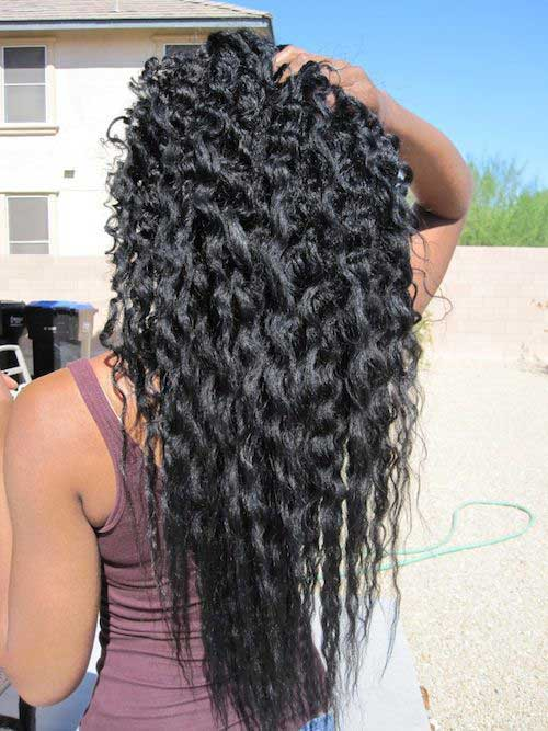 Dark Long Hairstyles Black Girls