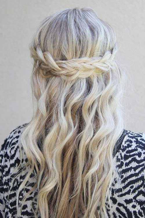 Easy Waterfall Braid Hairstyles