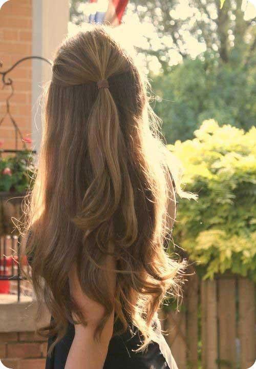 Pleasant 25 Easy Long Haircuts Hairstyles Amp Haircuts 2016 2017 Short Hairstyles Gunalazisus
