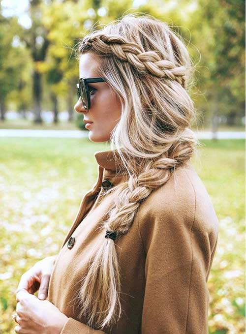 Fashionable Hair Braid Styles