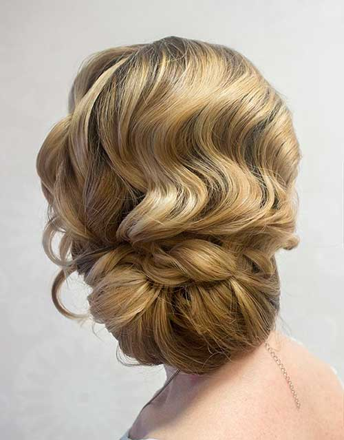 Finger Waves Wedding Hair Images