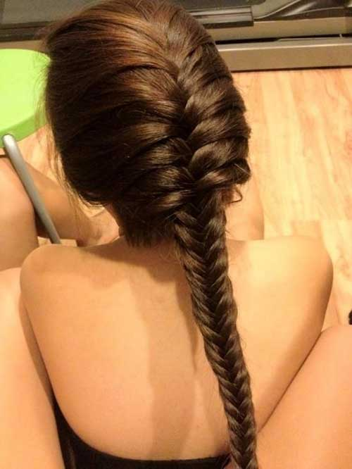 Fisfhtail Braided Hairstyles