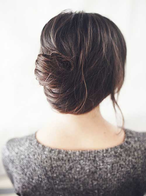 Simple French Twist Party Hairstyles