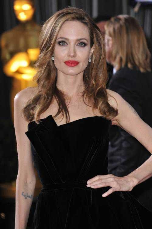 Angelina Jolie Hair Style