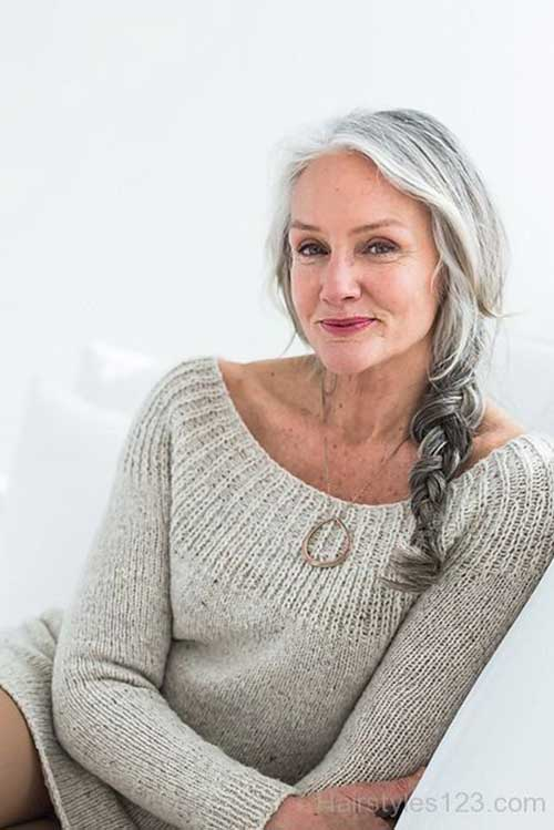 Long Hair for Older Women