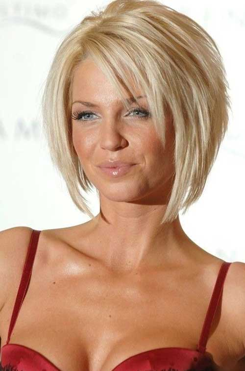 Short Bob Hairstyles For Over 40s - Hairstyles By Unixcode