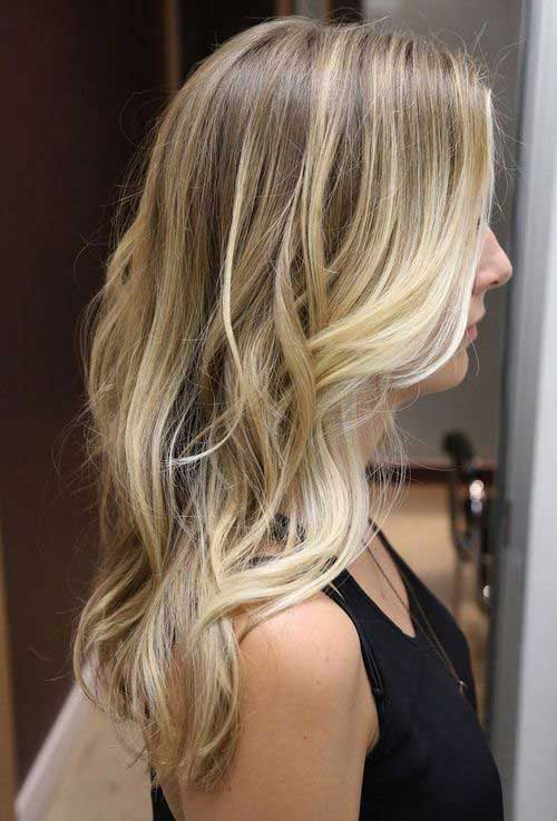 Dark Blonde Highlights Haircuts Hairstyles