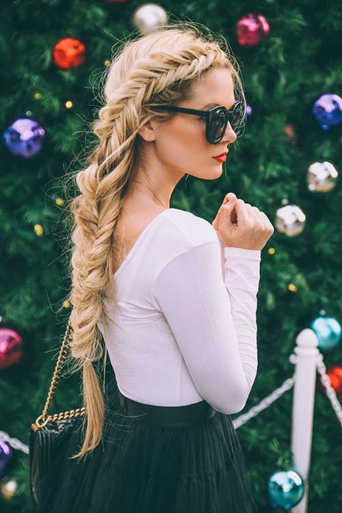 Dutch Fishtail Hairstyle