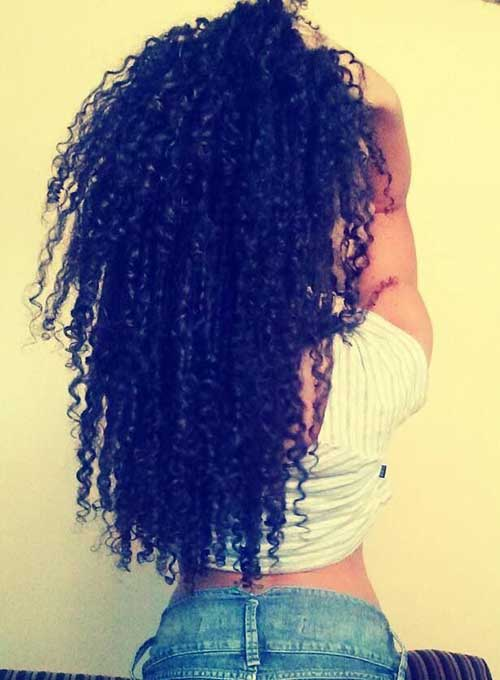 Natural Curlyhairstyles for African Women