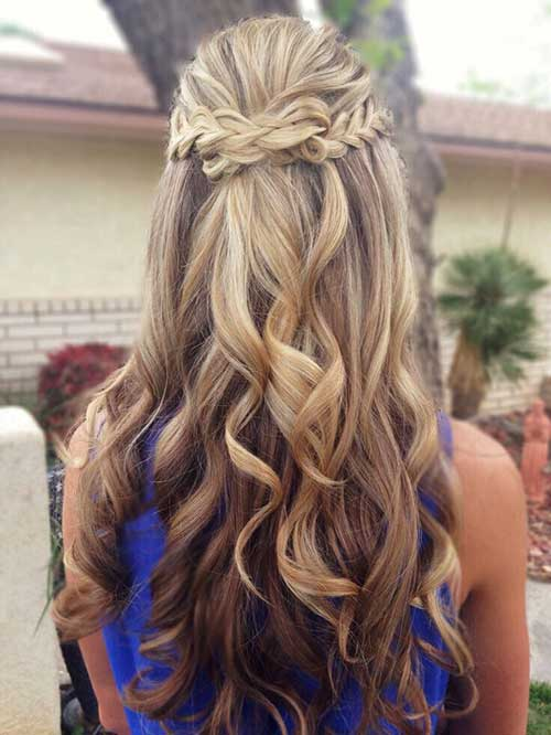 Best Half Up Half Down Braid