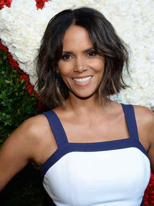 Halle Berry Hair 2015-2016