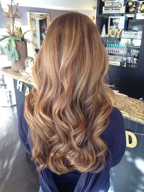Honey Brown Balayage Ideas