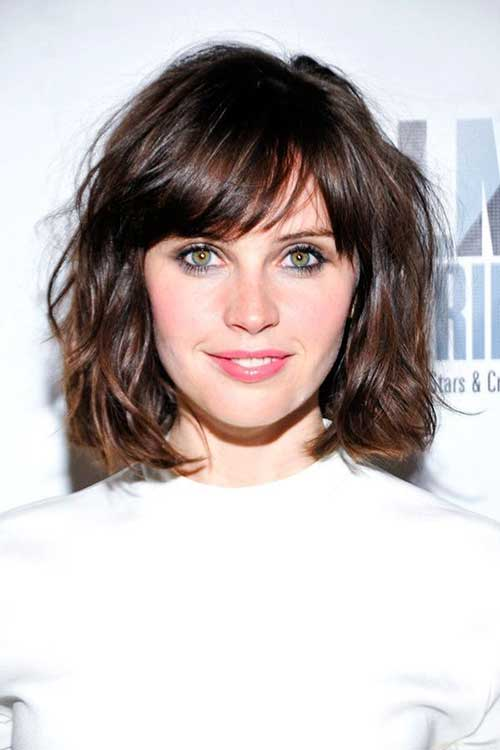Short Side Bangs 2016