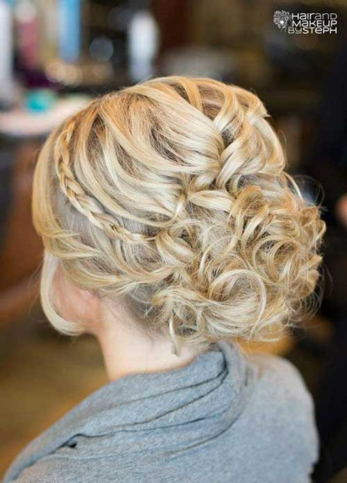 Latest Braided Updo Hairstyles