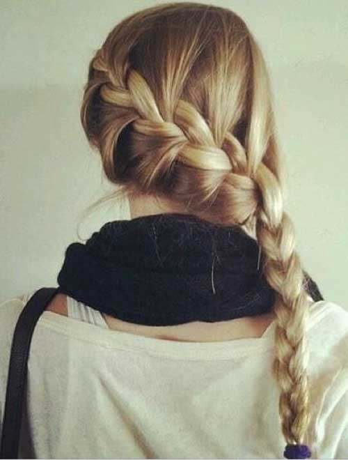 Latest French Braids Hairstyles