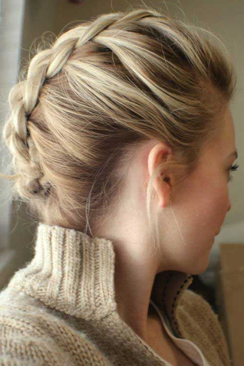 Latest Short Hair Braid Styles