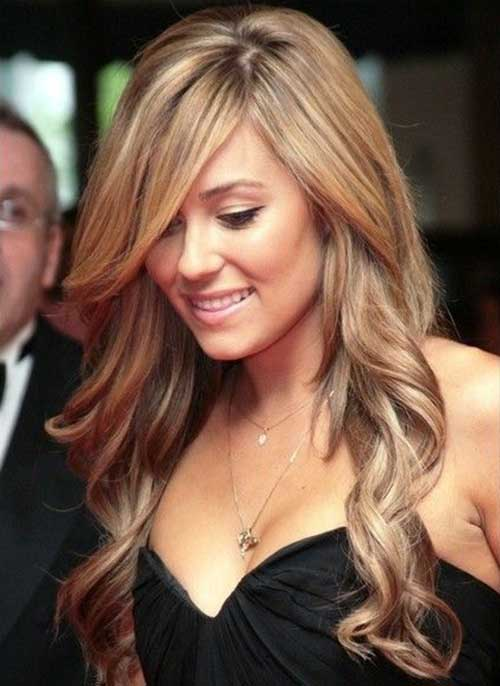 Lauren Conrad Long Hair with Side Bangs
