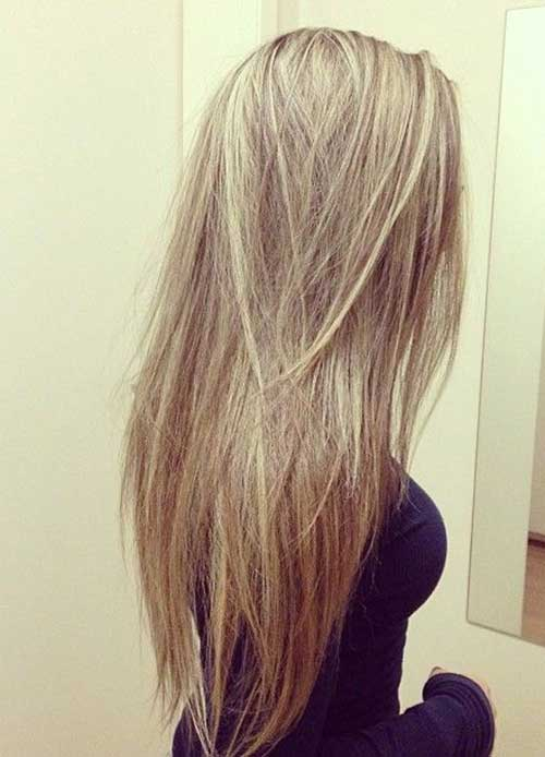 Best Layered Straight Long Hair