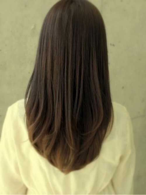 Long Casual Straight Hair Cut Styles