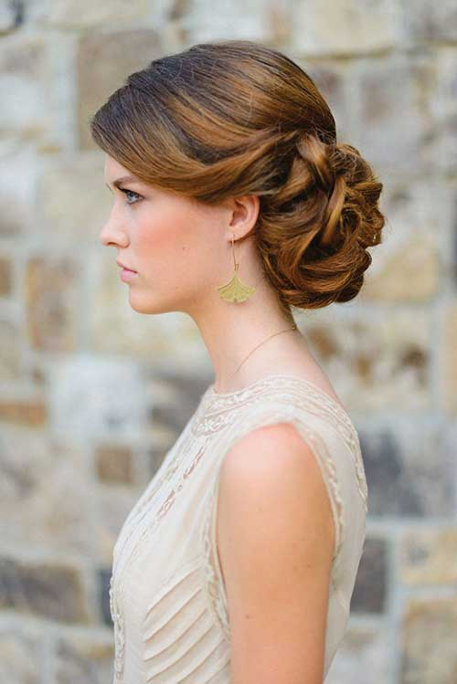 Admirable Chignon Wedding Hair Bridal Hair Bun Bridal Chignon Ash And Co Short Hairstyles Gunalazisus