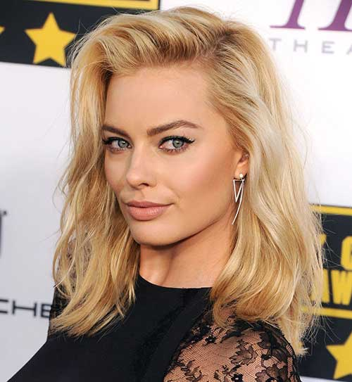 Margot Robbie Blonde Haircuts
