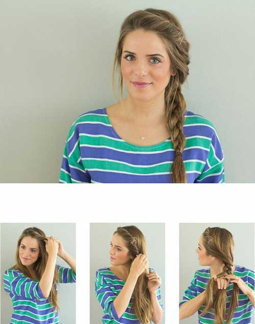 Best Messy Side Braid