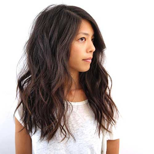 Messy Wavy Hairstyles 2015