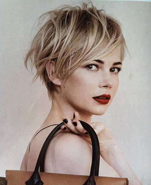 Michelle Williams Pixie Haircuts