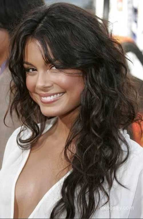 Nathalie Kelley Loose Curly Hair Haircuts
