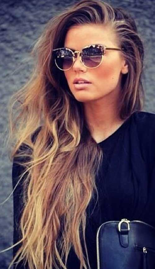 25 Easy Long Haircuts | Hairstyles & Haircuts 2016 - 2017