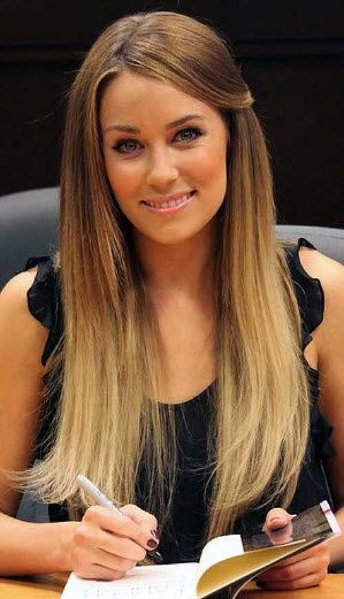 Simple Ombre Straight Hair