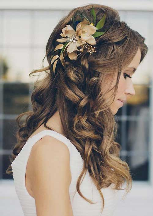Half Up Party Hairstyles Long Hair