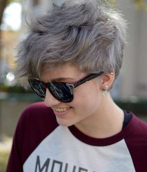 Pixie Cut Grey 2016