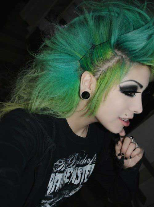 Cool Punk Hair