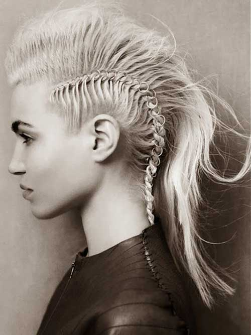 Stupendous 20 Punk Long Hairstyles Hairstyles Amp Haircuts 2016 2017 Short Hairstyles For Black Women Fulllsitofus