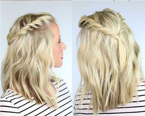 Best Reign Hairstyles with Braid