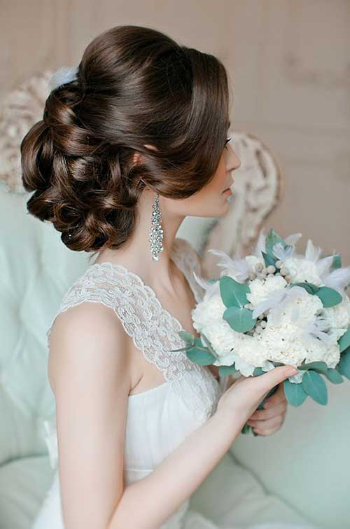 Romantic Wedding Hairstyles Images