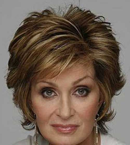 Sharon Osbourne Hairstyles Older Women