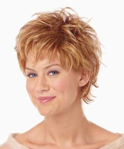 Short Hair Cuts Ideas for Oval Face