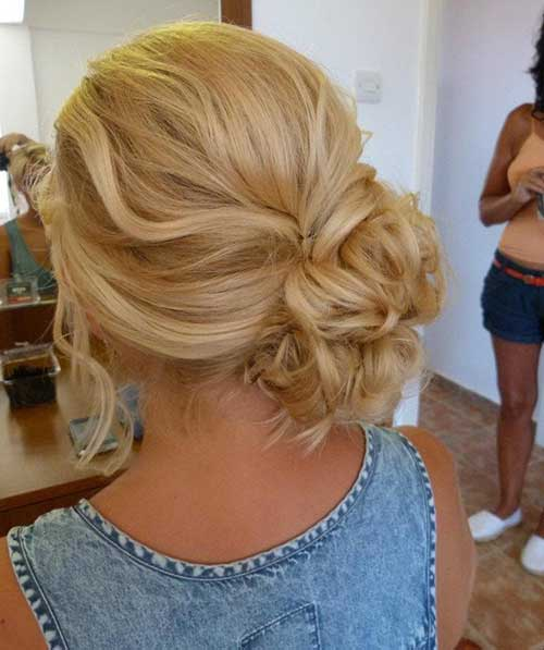 Side Bun Hairstyles for Wedding