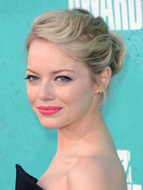 Simple Updo Hairstyles for A Party