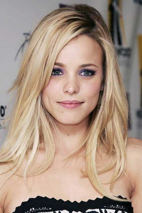 Soft Blonde Thin Hairstyles
