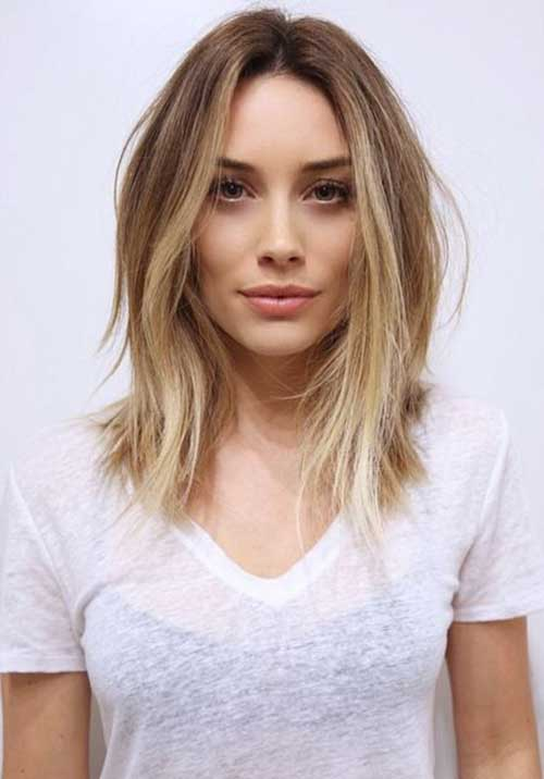 Best Soft Wavy Mid Hair Cut Styles