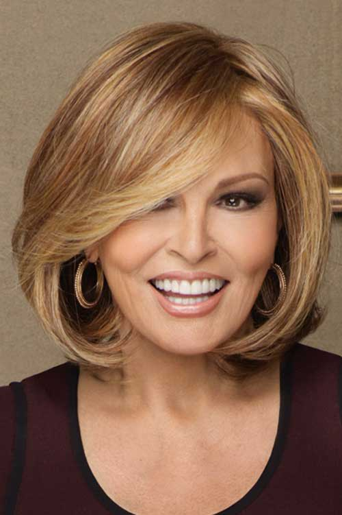 Straight Fine Short Hairstyles for Over 40