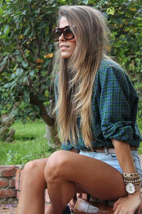 Trendy Straight Hairstyles