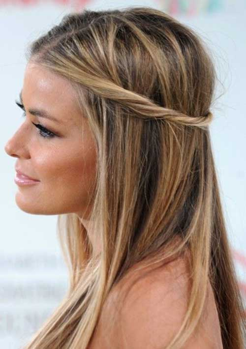 Tbest Twisted Simple Half Up Hairstyles